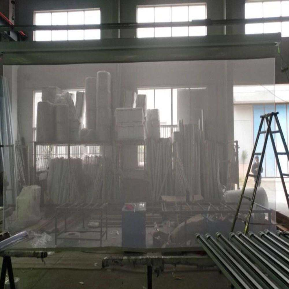 good quality transparent Holographic mesh projector screen stage used mesh projection screen