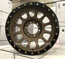 4*4 alloy beadlock wheel 17*9 rims method rim