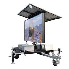 outdoor led message sign road safety traffic outdoor mobile vehicle advertising led display