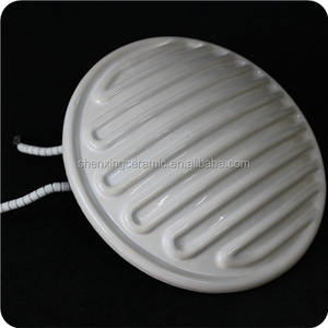 China 3300W 230V Elemento calefactor cerámico redondo con
