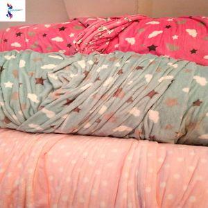 Wholesale flannel print fabric stock lot in Dubai