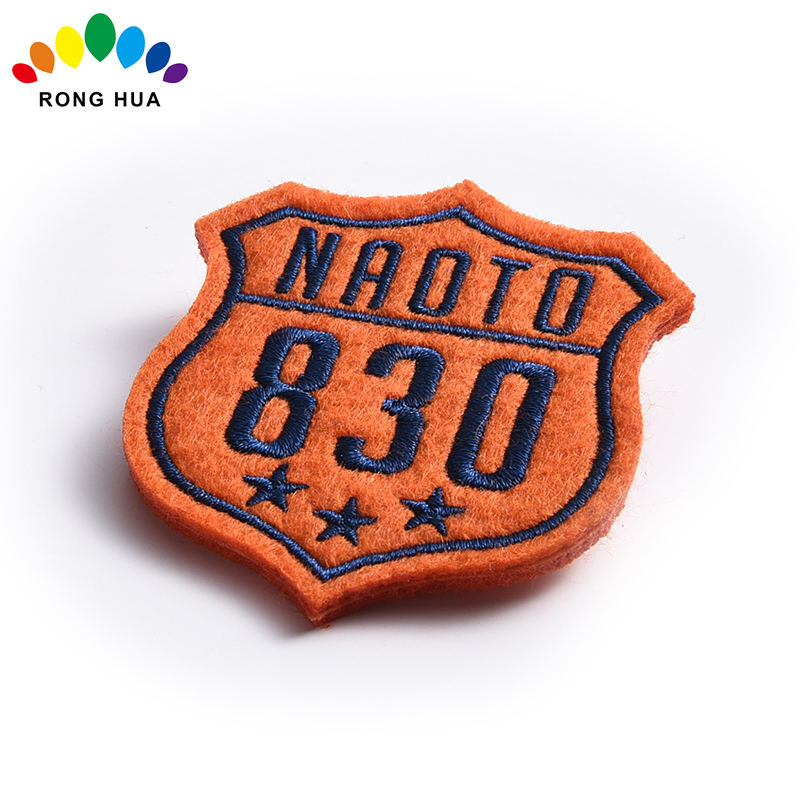 Custom best sale Cloth Embroidery Pin Botton Badges