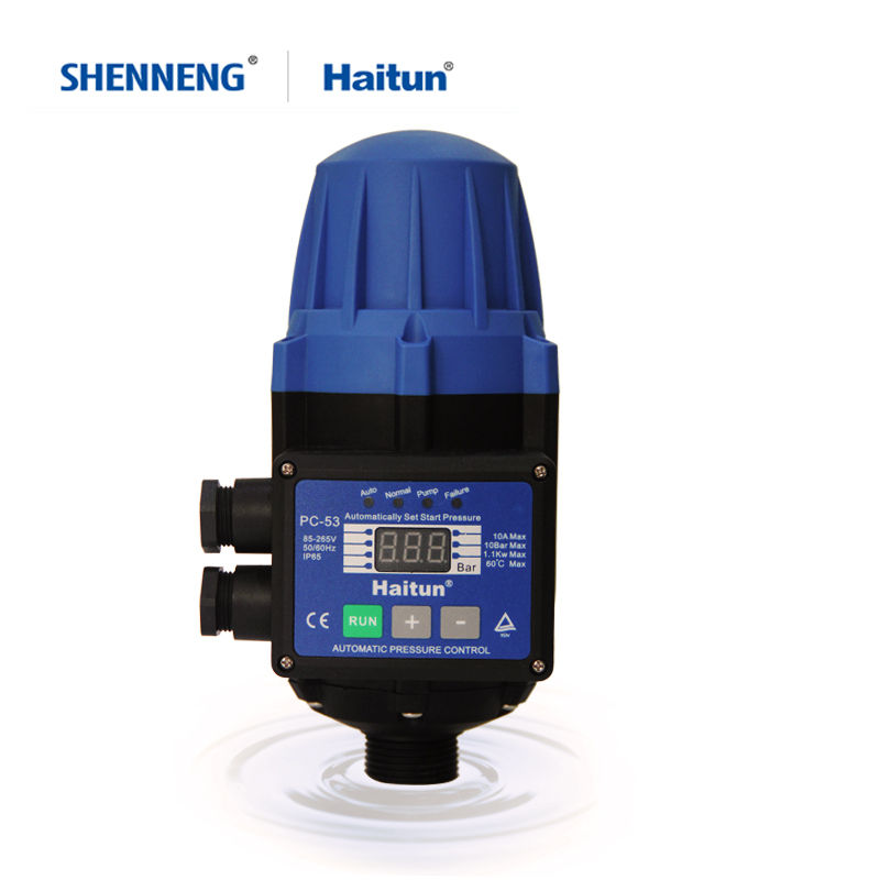 Water Pump Pressure Controller 110V 50/60HZ Automatic Electric Electronic Switch Control Pump Protection