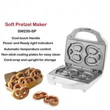 Super Electric Non Stick Soft Pretzel Maker