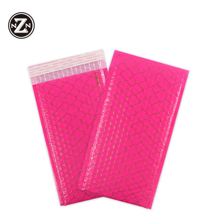 china direct sale matte color self pasting small post poly bubble mailer padded postal shipping bags