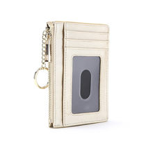 Leather mens leather wallet and key holder