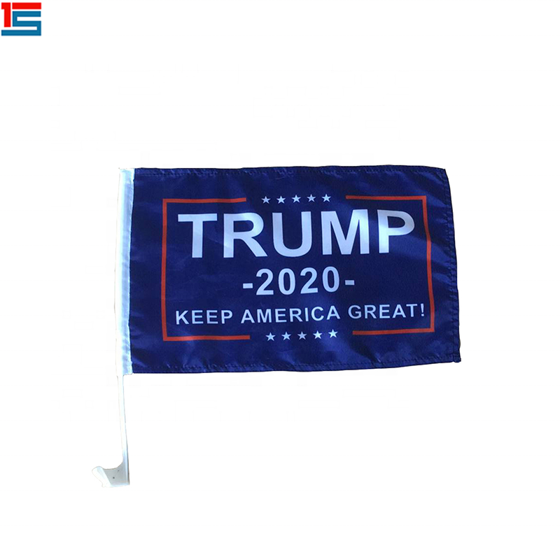 Custom 2020 Keep America Great car Donald Trump President Flag for Election day celebration