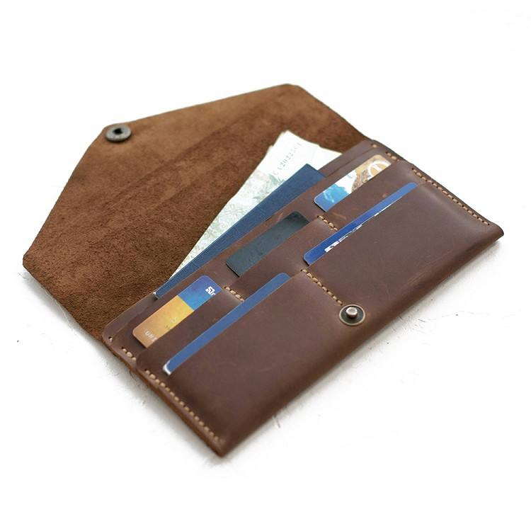 Multiple function passport cover case antique genuine leather visas for UK passport holders factory price passport case leather