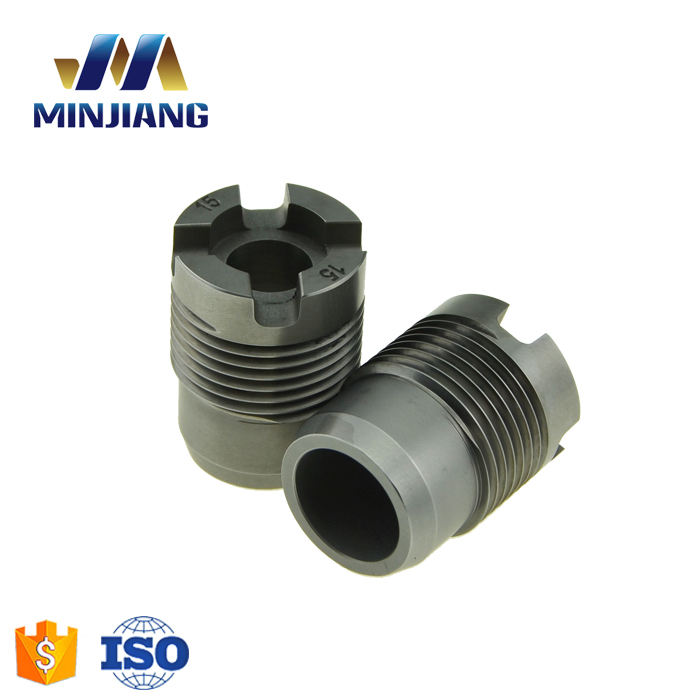 Tungsten carbide PDC drill bit nozzle