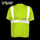 china supplier wholesale birdeye dry fit hi vis reflective safety shirts for man construction t-shirt workwear uniform ppe