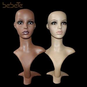 Wholesale Mannequin Head Female Plastic Mannequin Head