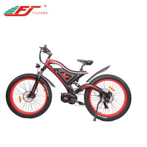 2019 brushless fast speed mid drive 1000w 48v fat tire electric mountain bike
