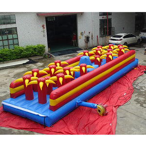New Design Inflatable Water Obstacle Course inflatable Jump Slide Obstacle For Sale