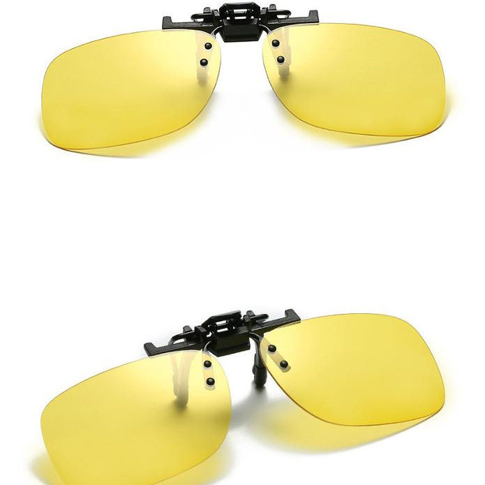 polarized variable color c flip up clips clip on sunglasses night vision driving glasses