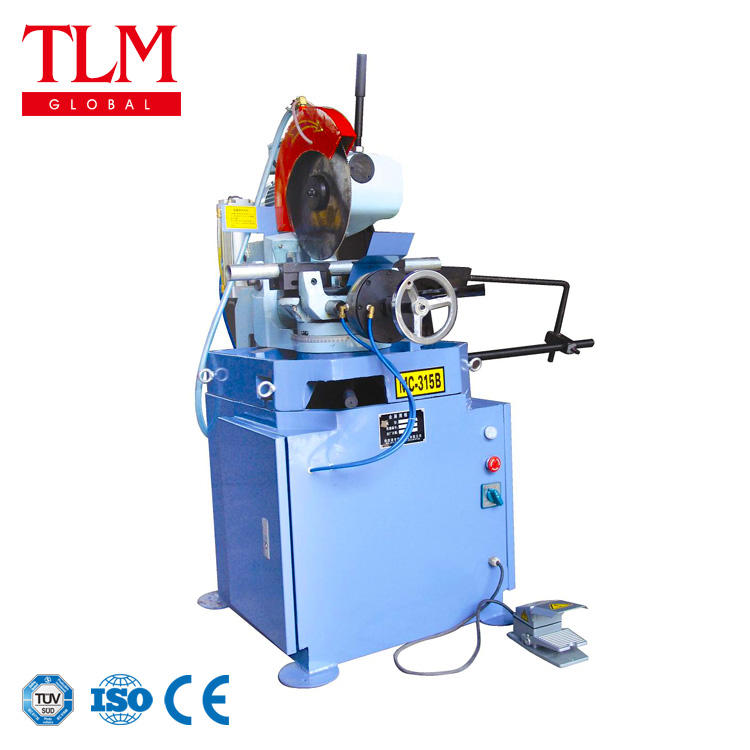 MC-315B semi-automatic metal cutting cold saw machine
