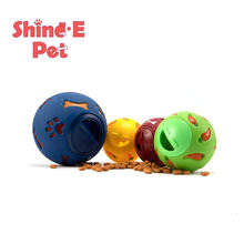 Non-Phthalate PVC Bone and Paw Pattern Pet Snack Ball