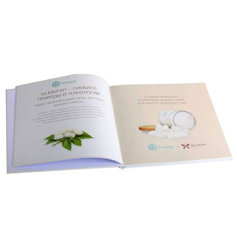 Top quality printing service hard cover printing butterfly catalogue