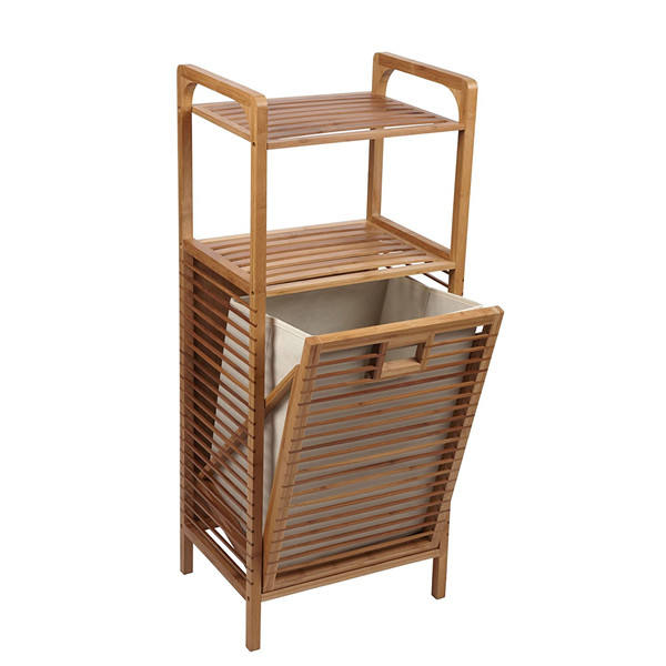 bamboo bathroom dirty clothes hamper/basket MY1-2029