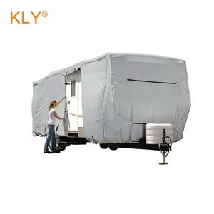 lonas para cubrir camiones Travel Trailer Rv Cover customized size dustproof waterproof outdoor polyester car cover