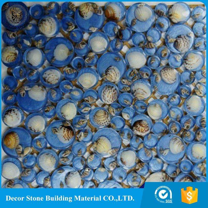 Best Wholesale Square Glass And Shell Glass Mosaic