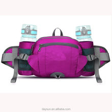 2019 hot selling Fanny Pack with Water Bottle Holder Hiking fanny pack waist bag Running Belt Outdoor Sport Lumbar Pack Hip Pack
