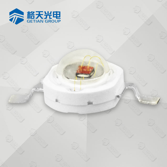 red 1W 620nm 630nm 640nm 660nm red led with taiwan epiled chip