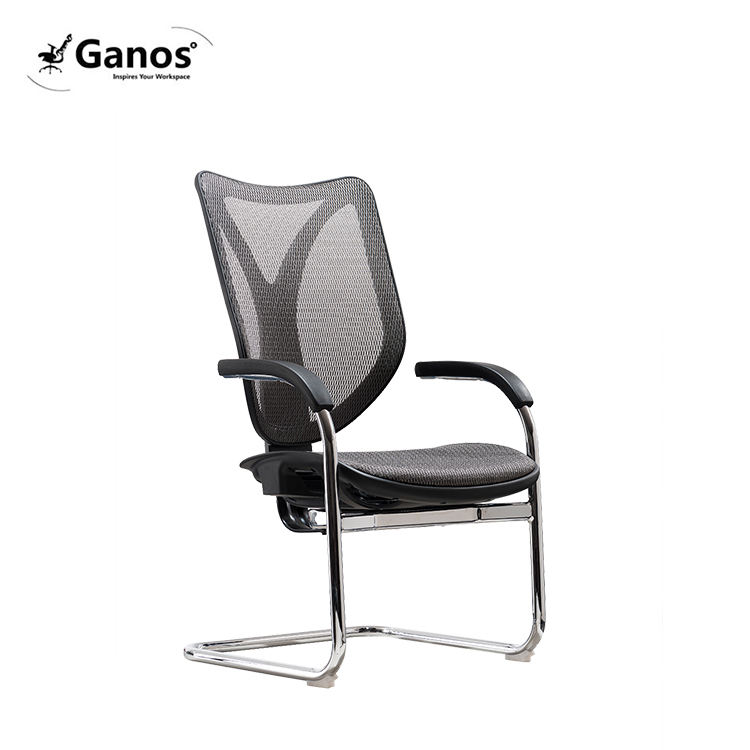 Visitor chair low back office desk mesh chair
