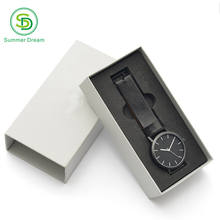 Custom watch box gift packaging box print paper gift box for watch