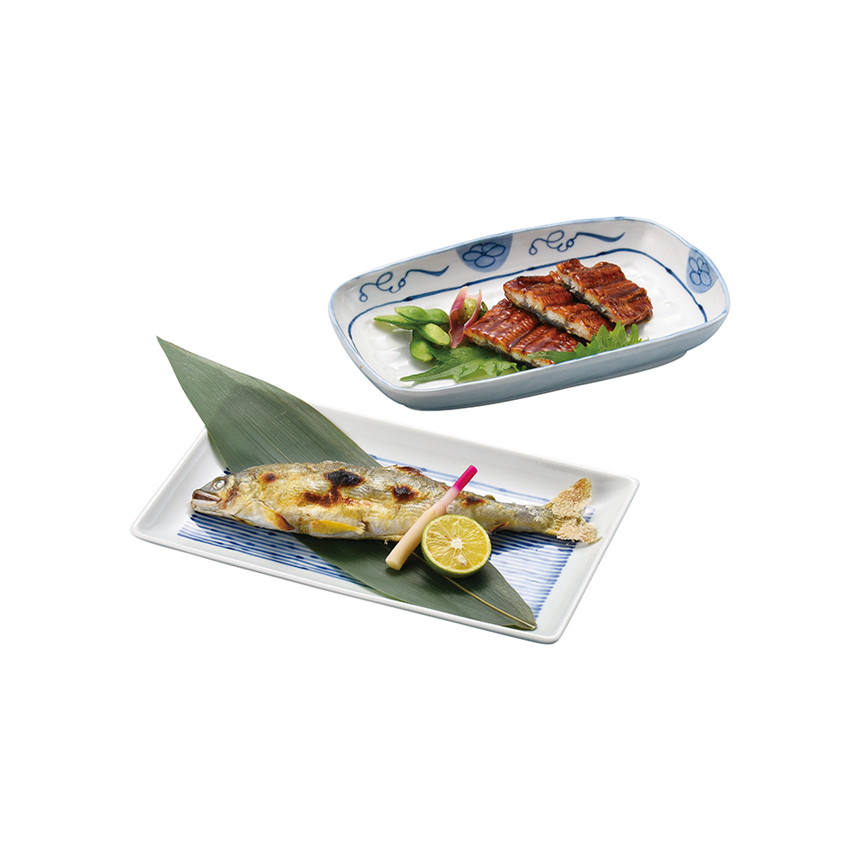 Japanese luxury ceramic dinning sets plates with high quality