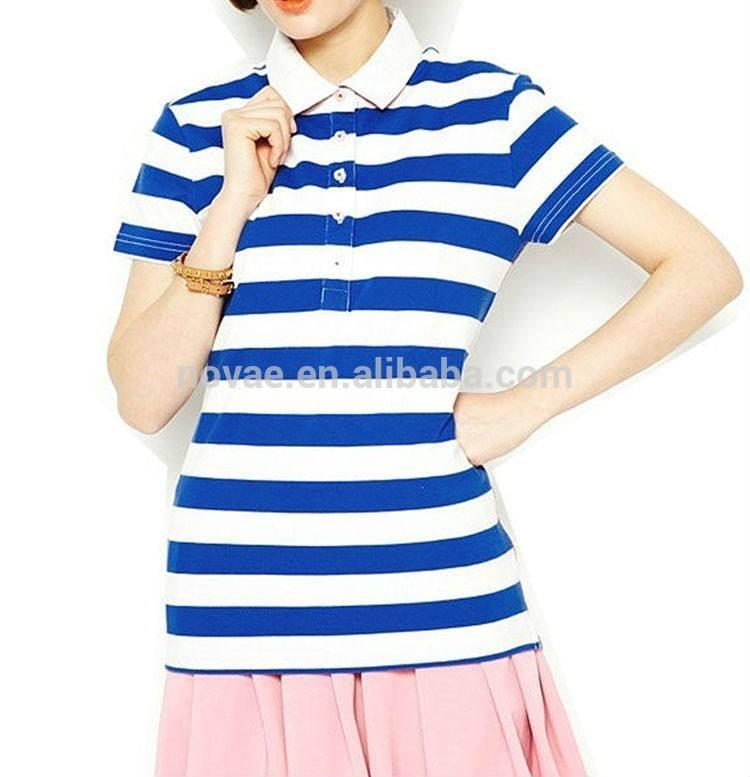 Frauen dri <span class=keywords><strong>fit</strong></span> streifen-polo-shirt