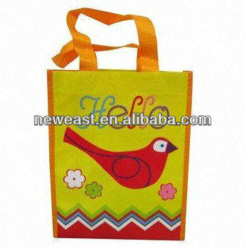 PP non woven wholesale eco-friendly shopping tote fabric bag