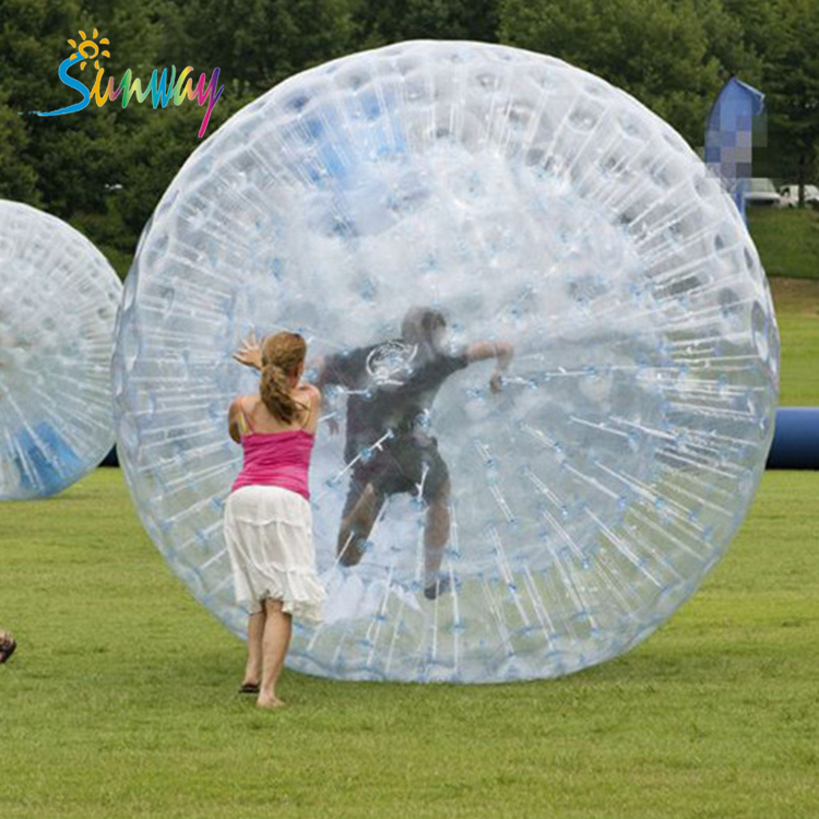 Sunway Guangzhou Inflatable Bubble Ball, Inflatable Bubble Zorb Ball with Cheap Price