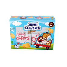 Animal shaped cracker biscuits 4 packs snack for baby