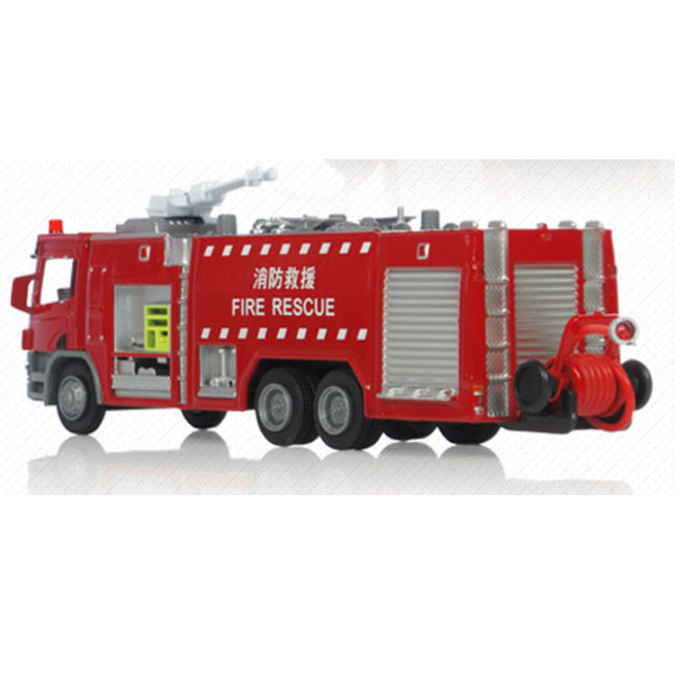 good quality metal toy fire trucks manufactured in China