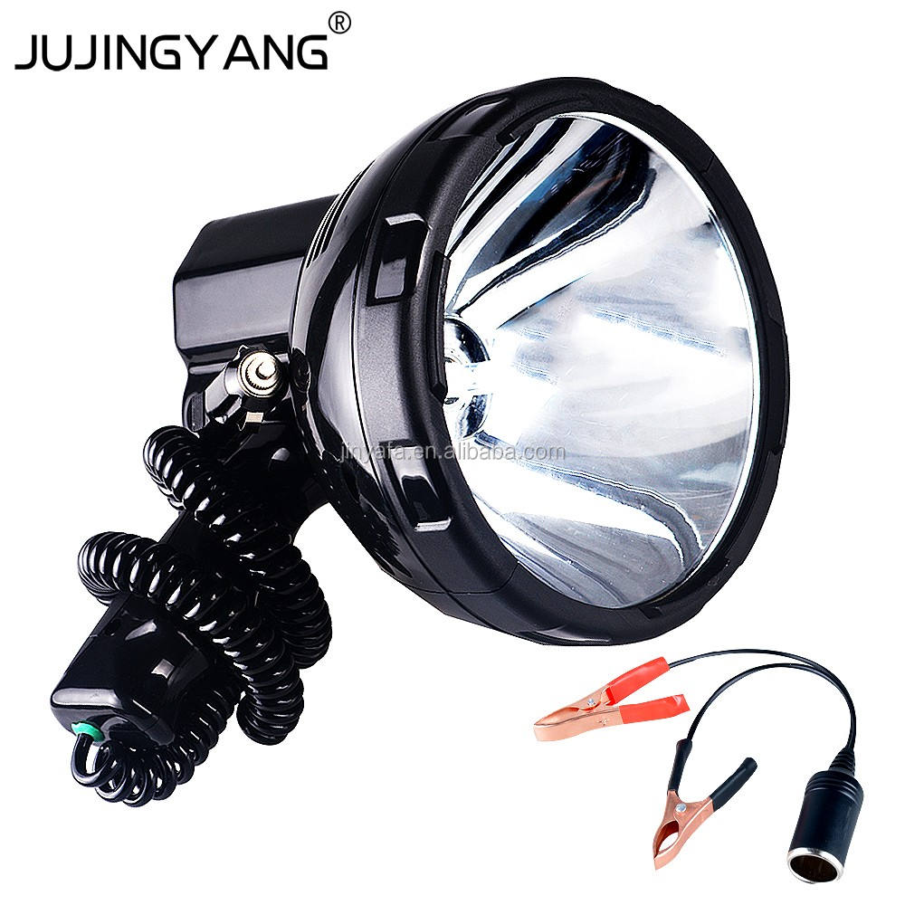 JUJINGYANG marine light HID hunting search light spotlight 35W xenon searchlight