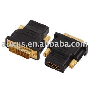 HDMI 19 pin female to DVI 24 5 pin male adapter