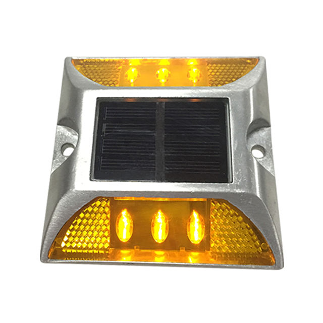 NOKIN Blinking led light driveway solar traffic road stud / raised pavement marker price