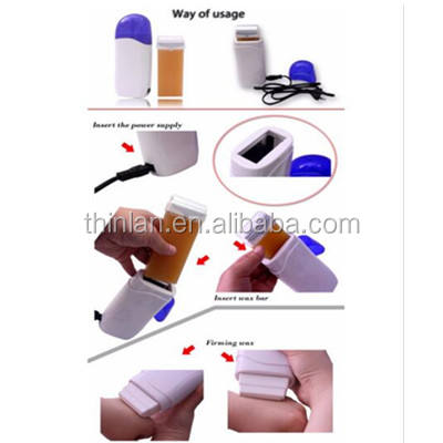 Professional Original 100ML Rollon Wax Heater With Base Hair Removal Machine