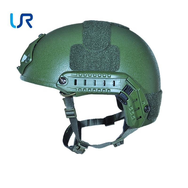빛 army fast 군 tactical safety 방탄 helmet 와 챙