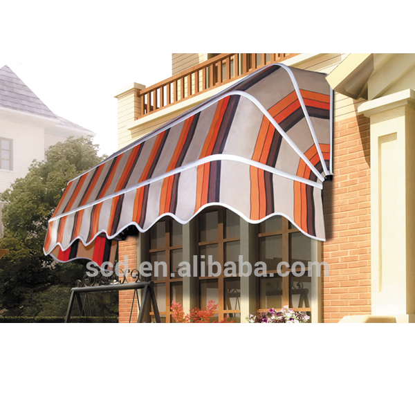 French Style Sunshade Coffee Shop Manual Canopy Window Awning