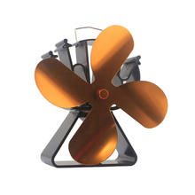 VODA Small Self powered Heat Powered Wood Heater Stove Fan