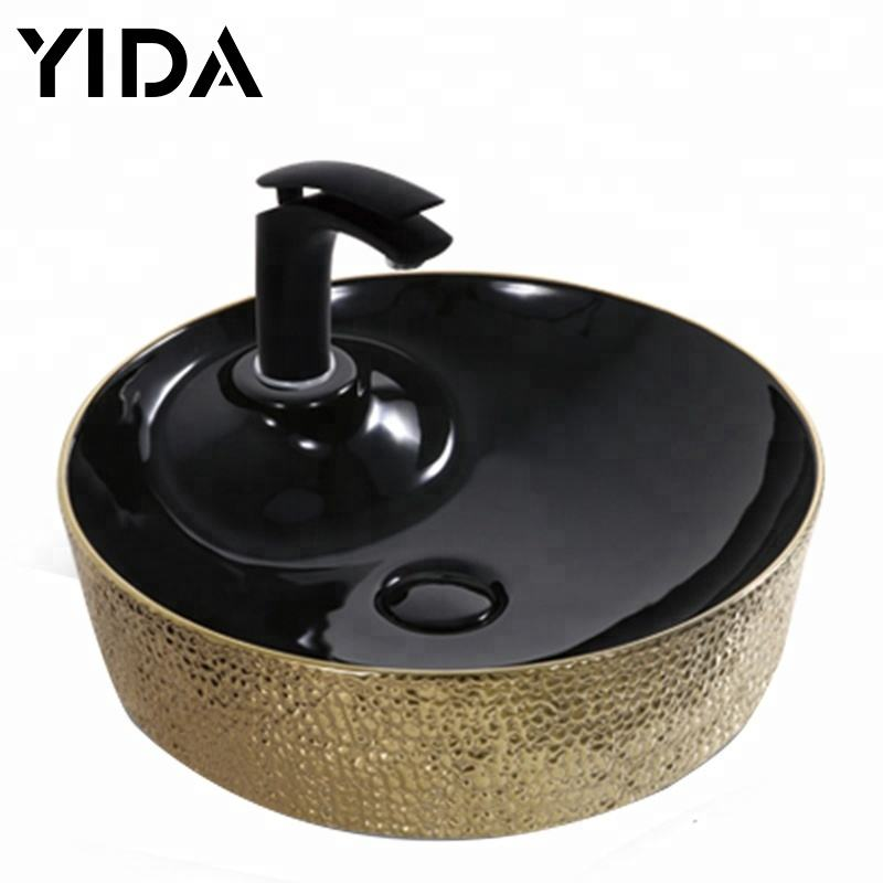 Chaozhou sanitary ware bathroom art basin salon furniture head wash sink price