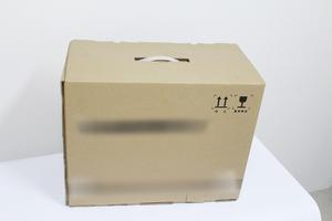 Wholesale cardboard carrying box with handle cardboard box carry lift handle