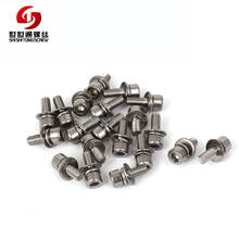 Socket Cap Head Sem Screw With Captive Washer And Flat Washer SEMS Screws Socket Head Screw