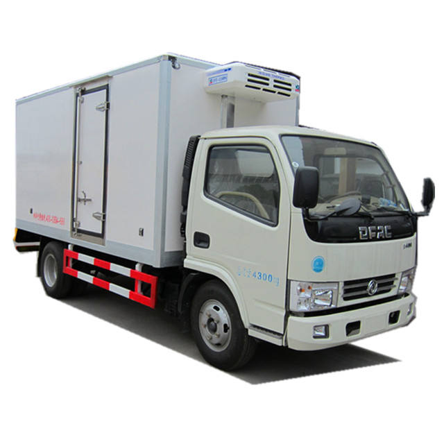 4X2 Refrigerated Cold Room Van Truck