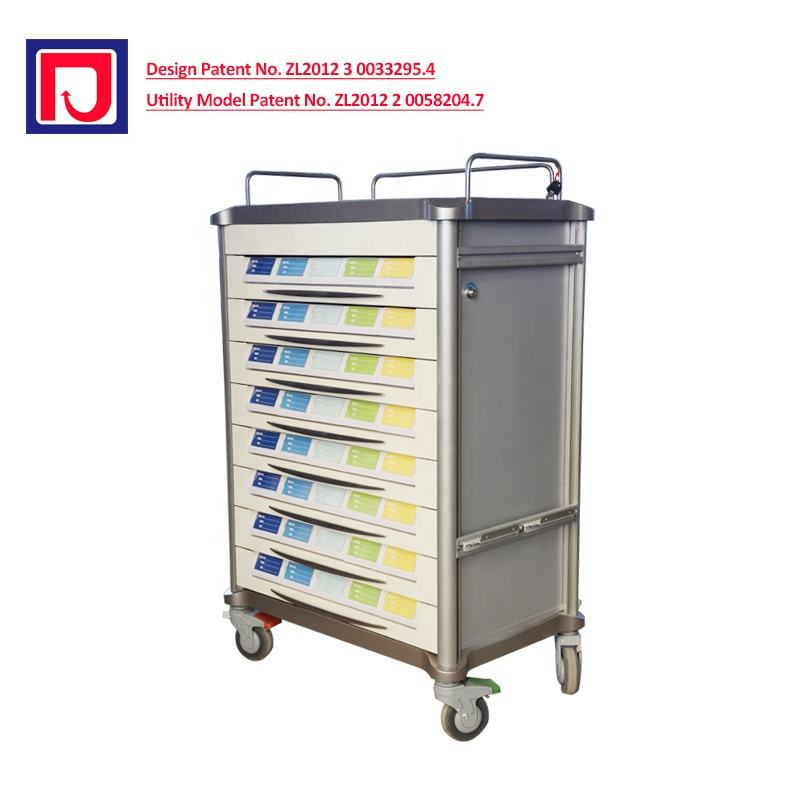 Hospital Medicine Trolley Medical Drug Trolley