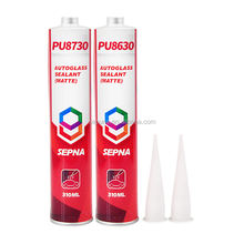 PU8630 310ml cartridge/600ml sausage auto windshield pu sealant and adhesive resin for glass replacement car windshield sealant