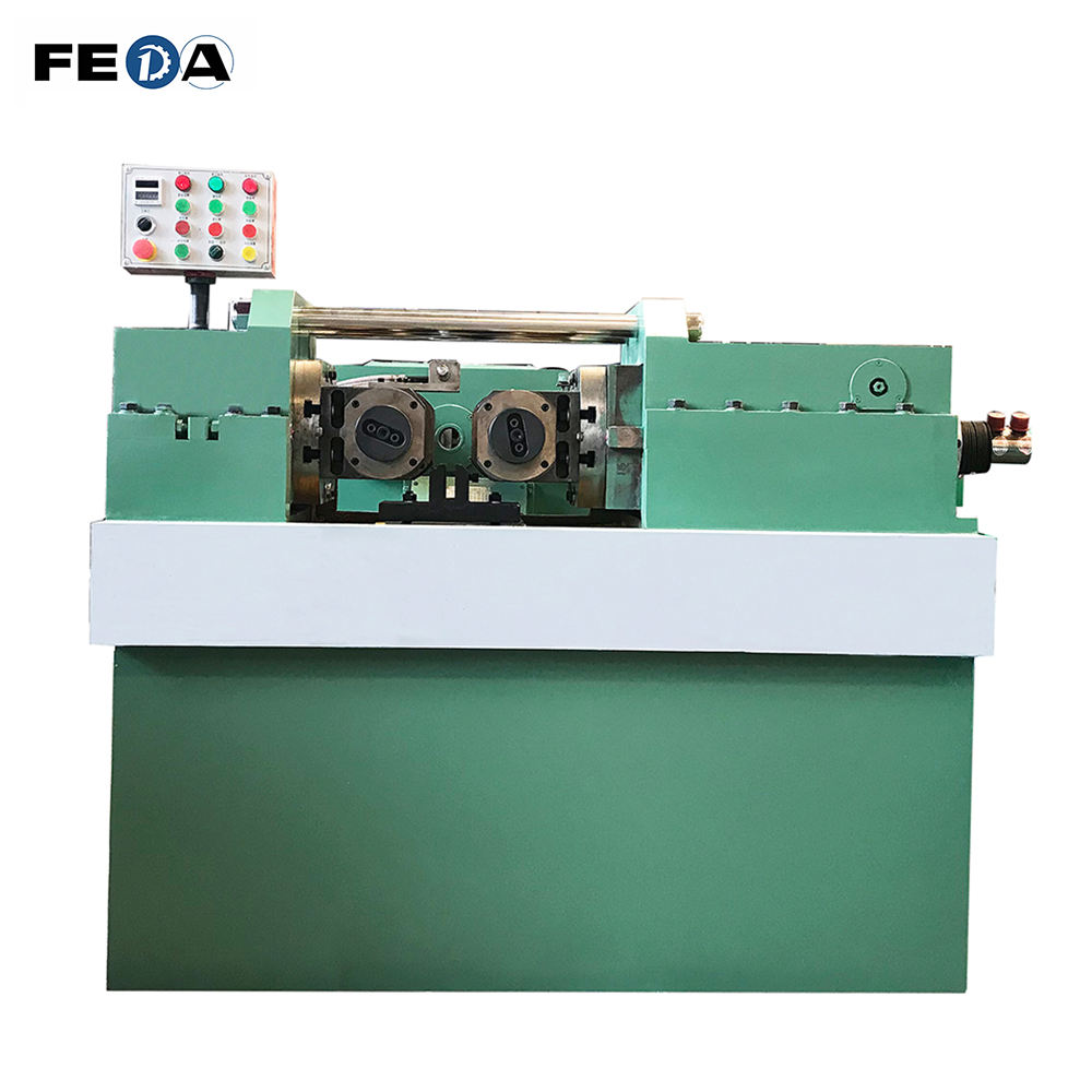 FEDA automatic huck bolt making machine precision thread making machine u bolt making machine