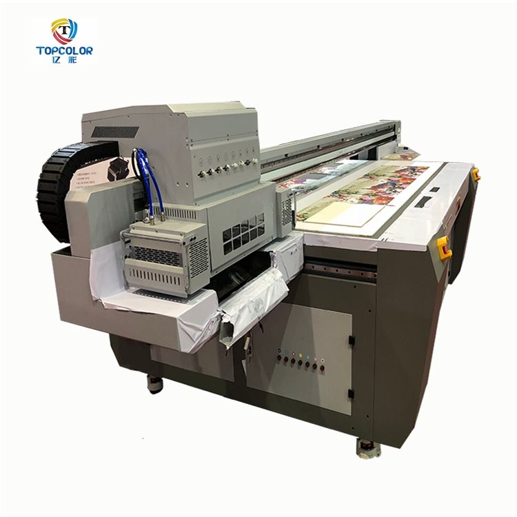 New technology 2500*1300 mm xaar1201 head W+CMYK*2+VARNISH large digital uv led flatbed printer price