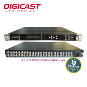 TV digitale Via Cavo Headend IRD Satellitare Ricevitore con DVB-T MPEG4 Tuner per SPTS IP Video Decoder IPTV Gateway
